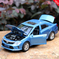 MINI AUTO 1 32 Free Shipping Toyota Camry Alloy Diecast Car Model Pull Back Toy Car