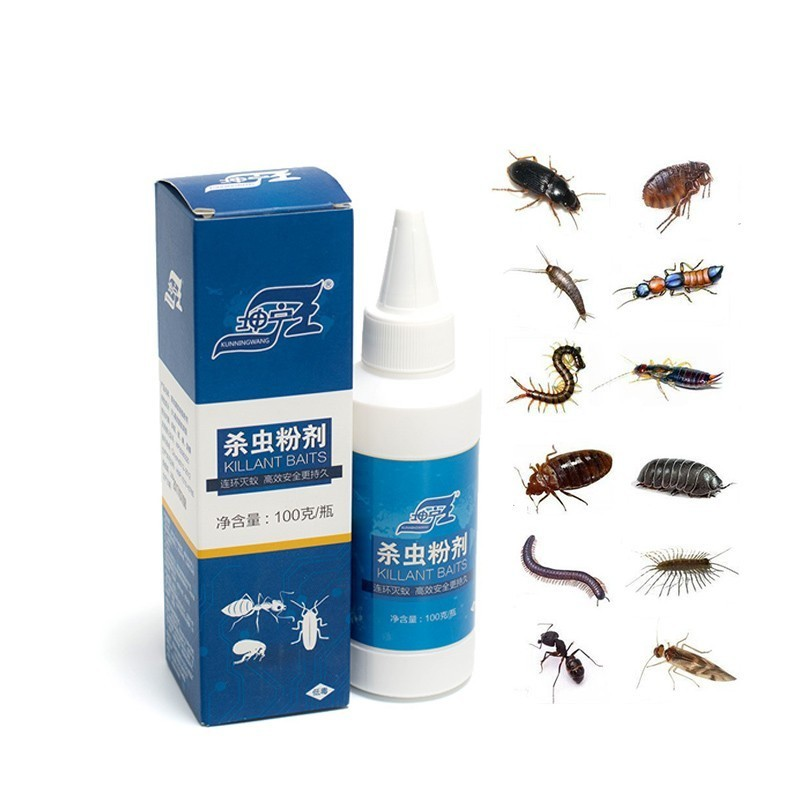 Us 7 99 20 Off Family Insecticide Efficient Powder Kill Bed Bug Killer Extinguish Cockroach Flea Away Louse Miraculous Ants Insect Pest Control In