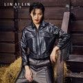 2017 Korean-Style Women's Leather Jacket Short Paragraph Motorcycle Jacket Tassel Coat Tooling
