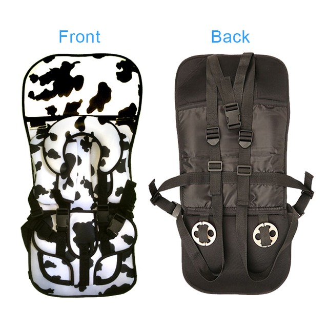 Adjustable  Portable Toddler Car Seat Cushion Portable Car Seat Travel Safety Pads Sitting Mat For 3~7Y Kids