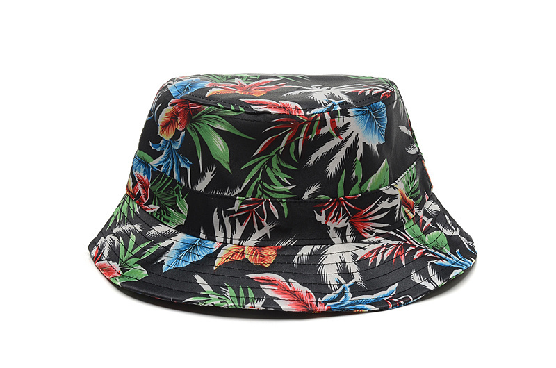 Hiphop Floral Brand fishing Cap Chapeau Floral fisherman hat flat women bob  Summer style Flower Bucket Hat for men -in Bucket Hats from Apparel  Accessories ... c1cd73929c6