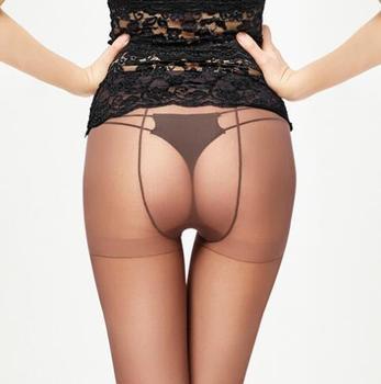 e075ae236 2019 verano nuevas mujeres Sexy 3D ultrafino Medias sin costuras baja  cintura transparente dedos medias invisibles pantimedias 4 colores