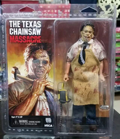 Texas Chainsaw Massacre Leatherface Clothed Action Figures PVC Brinquedos Collection Figures Toys Men Birthday Gifts Retail