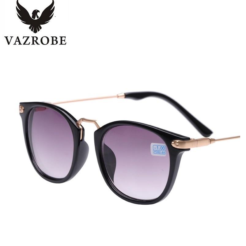Vazrobe 1 0 To 4 0 Myopia Sunglasses Women Men