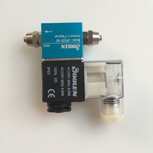 """Новые аквариумные растения 220 В AC CO2 магнитный клапан 1/"""" электромагнитный клапан с светодиодный инструкцией BSP нормально закрытый соленоидный воздушный клапан"""