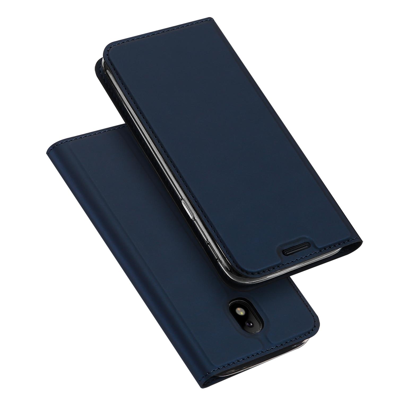 DUX DUCIS Peau Pro Série PU Cuir Folio Flip Cover avec Fente Pour Carte pour Samsung Galaxy J5 (2017) L'UE Version/J5 Pro