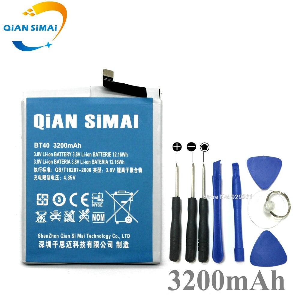 QiAN SiMAi Neue 3200 mah Batterie & Reparatur Werkzeuge Für Meizu MX4 BT40 MX 4 BT 40 Lithium-Polymer Ersatz batterien