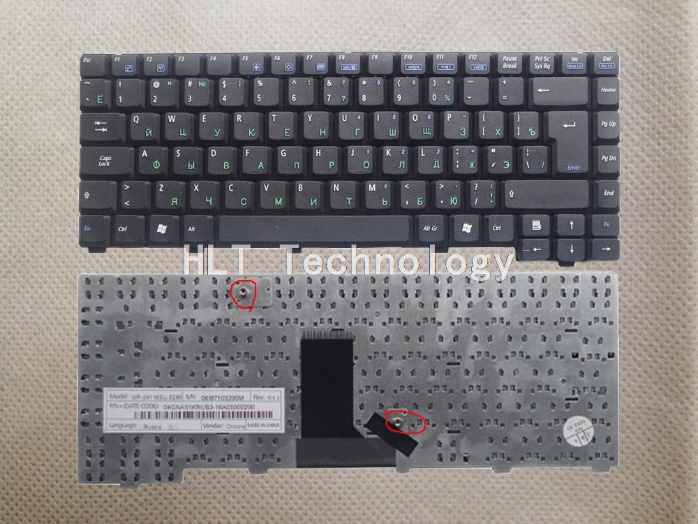 Original and New Black Russina keyboard for <font><b>ASUS</b></font> A6000VM A6000V A6000 <font><b>A3000</b></font> A6J A9 Z91 Z81 A3 A3L A3G Good work! image