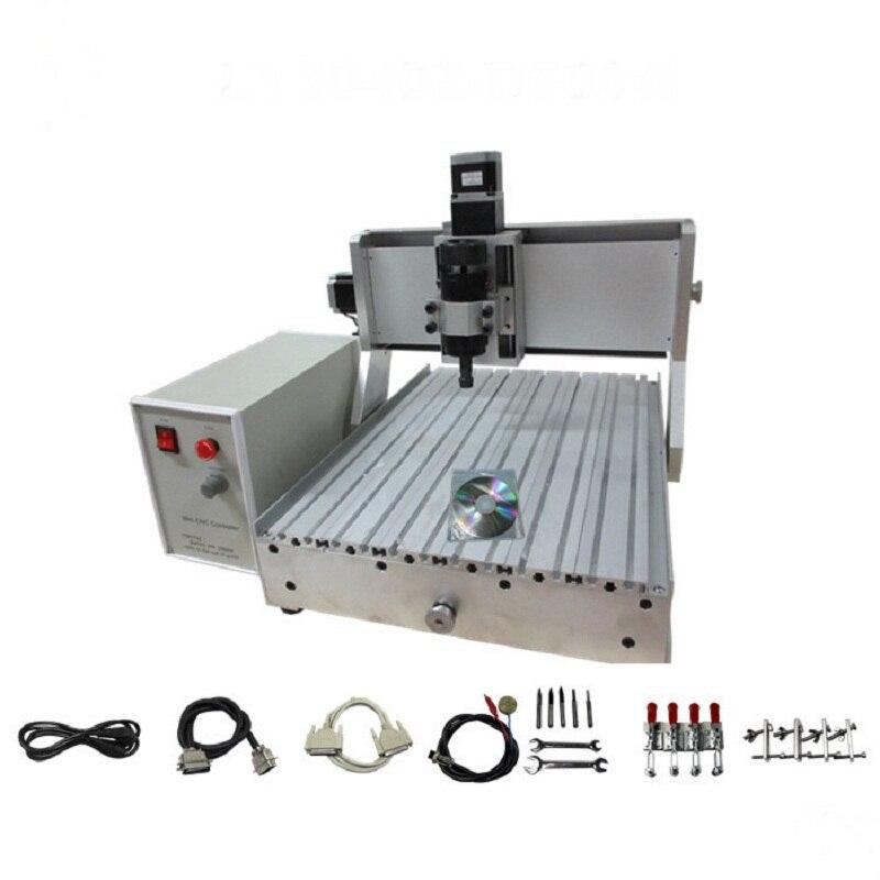 500 W CNC 3040 mini machine de gravure bois routeur mach3 vis à billes de contrôle