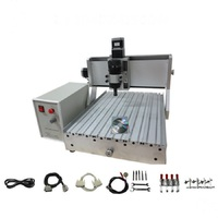 500W cnc 3040 mini engraving machine wood router mach3 control ball screw