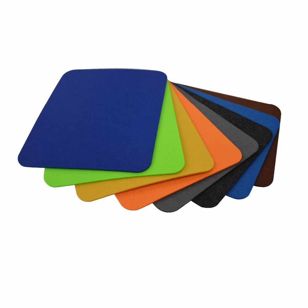 20x24 cm Wool Felt Gaming Mouse Pad Large Desk Mat Non-Slip Felt Base 3mm Thick office and home quickly The best choice gifts