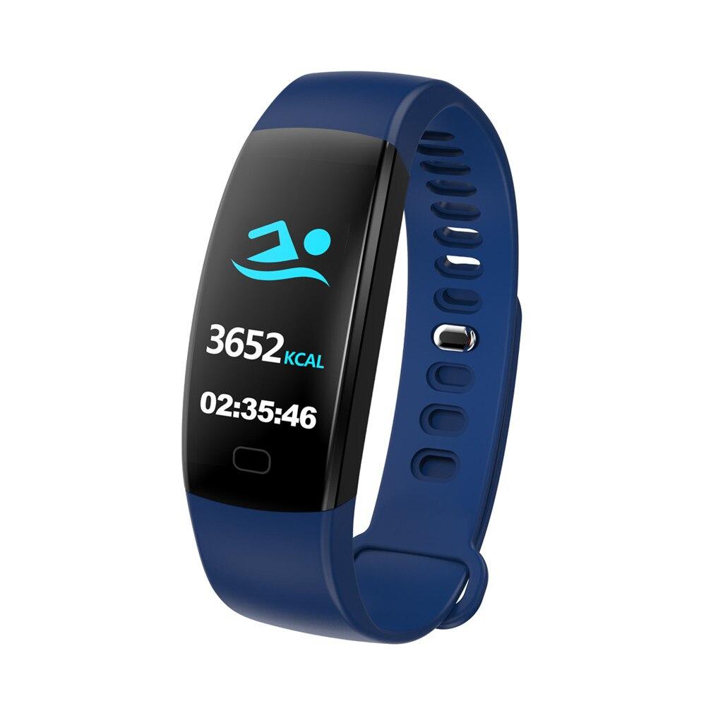 F64 Fitness tracker heart rate monitor Blood pressure Smart bracelet samrt band 04