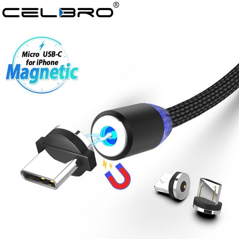 Billiger Preis Magnet Usb Typ C Lade Kabel Magnetische Telefon Ladegerät Kabel Usb Cabo Tipo C Für Samsuang Galaxy S10 M30 Micro Usb Kabel Led