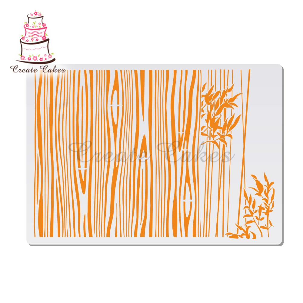 Bark Stencils For Walls Painting Scrapbooking Stamp Album Decorative Embossing DIY Craft Paper Card Flower Template