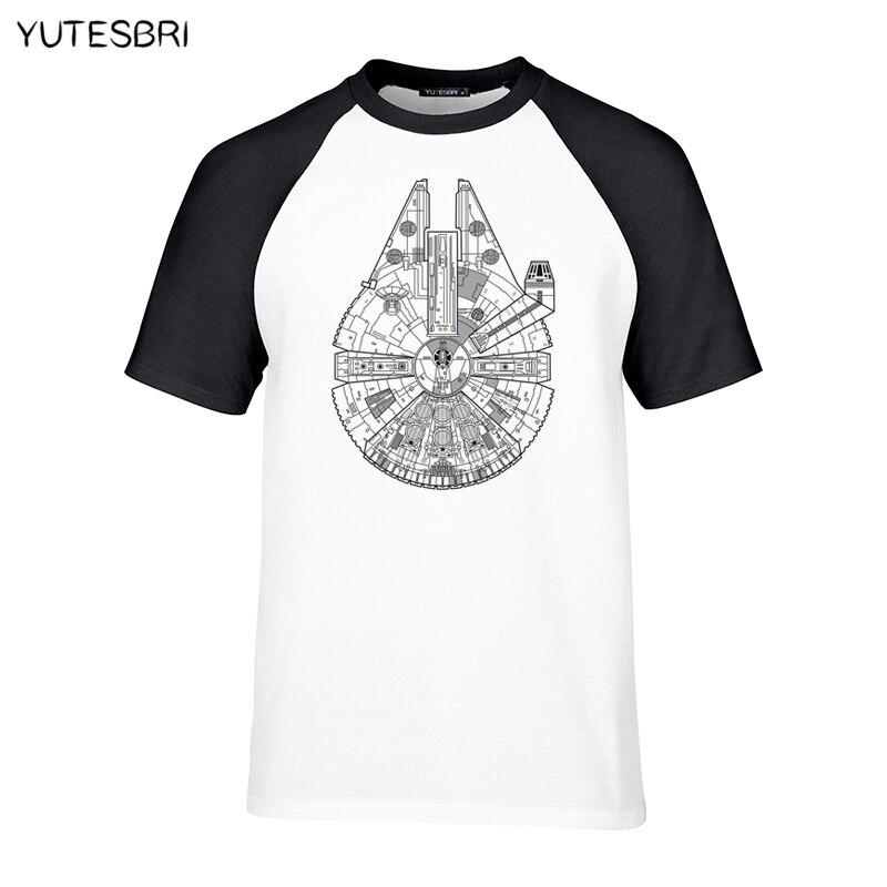 Casual men trendy top tees raglan t shirt funny customized Mechanical cat sign men clothing short sleeves branding T-shirt