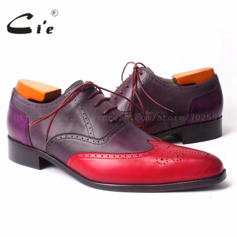 cie Pointed Wing-tips Full Brogues Lace-up Oxford Mixed Colors 100%Genuine Calf Leather Bottome Outsole Breathable Men ShoeOX302 купить часы haas lt cie mfh211 zsa