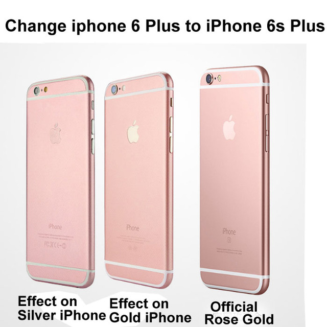 For IPhone 6 Plus Sticker Decal Film Case Cover Change Phone To