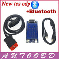 Золото TCS CDP Pro plus 2014. R2 Release2 + Keygen Активатор С Bluetooth cdp obd2 сканер для OBD OBDII автомобили и Грузовики и Generic 3in1