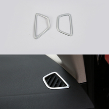 Car-styling interior accessories ABS Chrome front up air vent Cover For BMW 5 Series 2018
