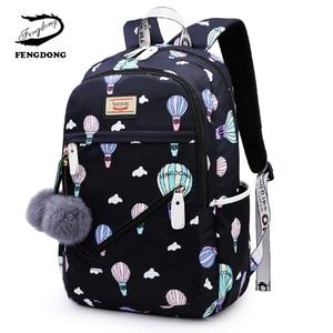 Image 1 - ファッション 2020 女性バックパックナイロン Backbag Mochilas 女性 bagpacks 十代の少女 Bagpack Backbag リュック