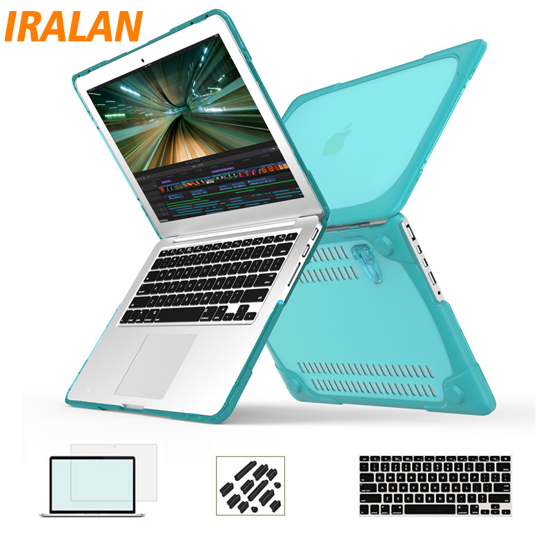 Excellent quality Laptop bag case for Macbook Air Pro 11 12 13 15 inch Protect shell for Mac Book 13.3 Hard Case Cover
