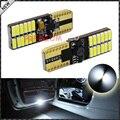 2 unids CAN-bus Sin Error 24-SMD 4014 W5W T10 Bombillas LED Para la Puerta Lateral/Pies Zona de Cortesía luces, Xenon Blanco