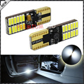 2pcs CAN-bus Error Free 24-SMD 4014 W5W T10 LED Bulbs For Side Door/Foot Area Courtesy Lights, Xenon White