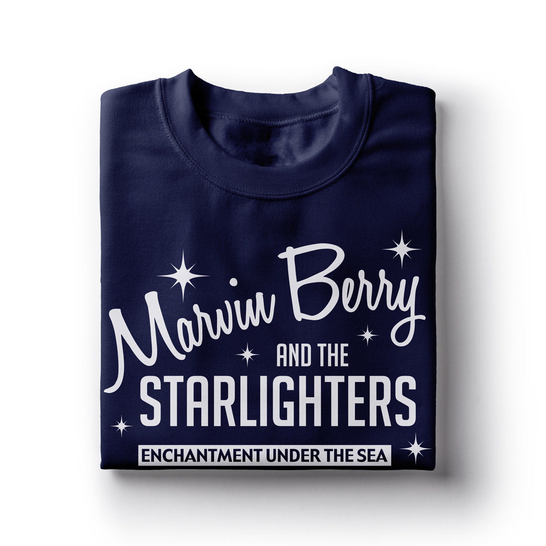 Marvin Berry And The Starlighters Inspired by Back To The Future T Shirt Top Tee 100 Cotton Humor Men Crewneck Tee Shirts in T Shirts from Men 39 s Clothing