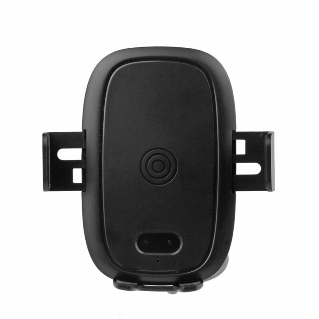 Fast Qi Wireless Charger Induction For Samsung S8 S9 S7 S6 Note 8 9 7 Automatic Clamping Wireless Car Charger Mount