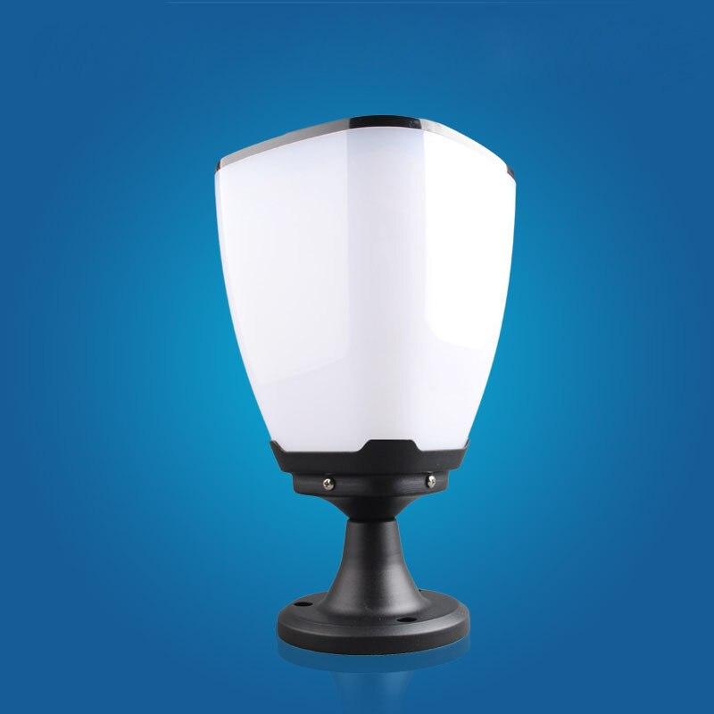Супер яркий водонепроницаемые колонки Солнечный свет лампы голову Post Открытый лампы солнечного света стены водонепроницаемый IP65