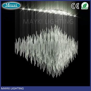 Maykit 80 W Dmx Led fibra óptica fuente de luz potente Synchro Motors cortina cascada decoración para Hotel Bar salón