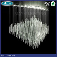 Maykit 80w Dmx Led Optic Fibre Lighting Source Powerful Synchro Motors Waterfall Curtain Decoration For Hotel Bar Living Room