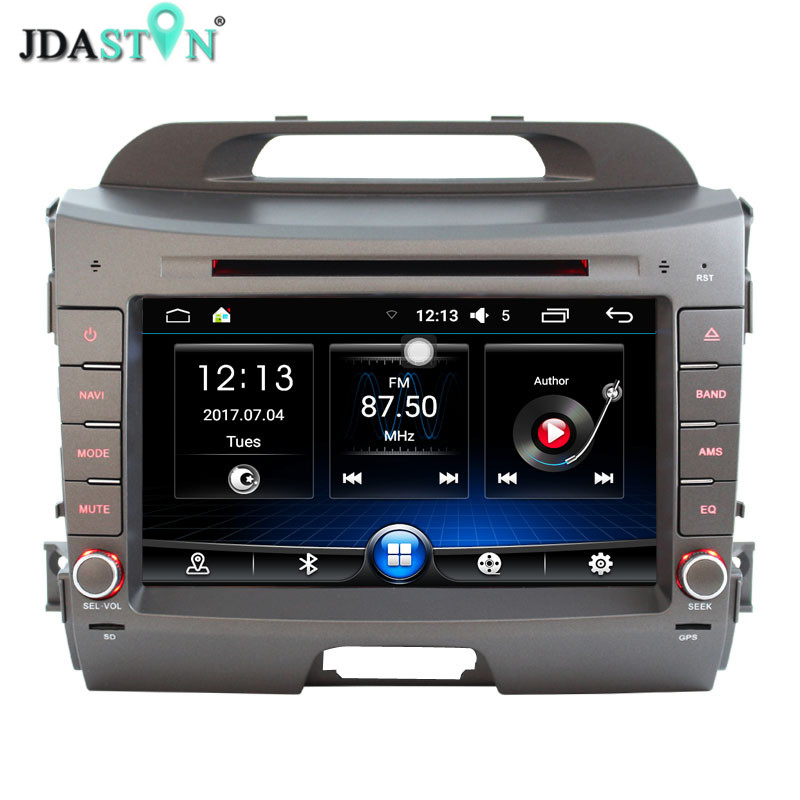 JASTON 2 Din Android 6.0 Car Multimedia DVD Player For KIA Sportage 3 2010 2011 2012 2013 2014 2015 RDS Car Radio GPS Navi Radio автомобильный dvd плеер hotaudio 4 4 4 kia sportage 2010 dvd gps navi dhl ems