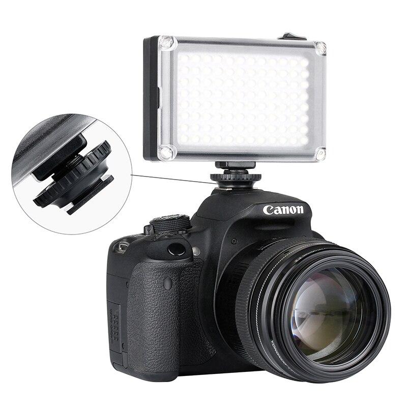 Ulanzi Cardlite Mini Cámara De Video Portátil Con Luz Led Para Cámara Réflex Digital Canon Nikon Con Filtro De Iluminación Fotográfica