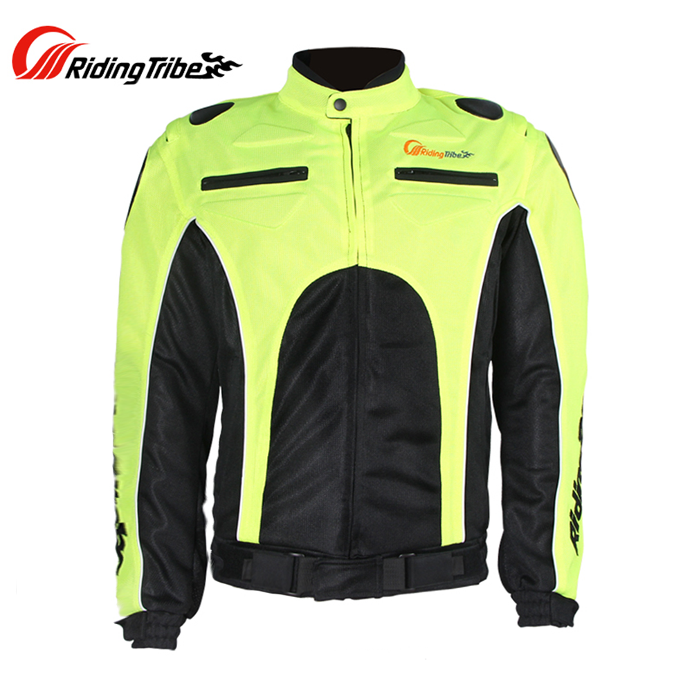 Riding Tribe Motorcycle Jacket Racing Jaqueta Clothing Motocross Off-Road Riding Coat Summer Breathable Mesh Quick Dry Jackets