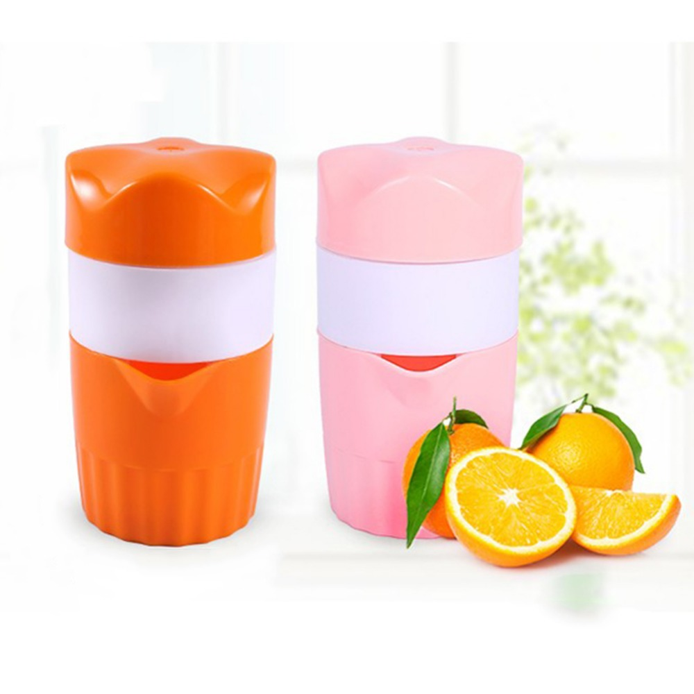 Portable 300ml Manual Lemon Juicer Orange Citrus Squeezer Fruit Coffee Cup Large Capacity Teacup Home Appliances 420ml penguin manual lemon juicer coffee cup blender orange citrus squeezer