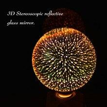 3D Star Fireworks Effect Night light LED Lamp E27