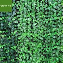 Length 220cm 24pcs/lot Bar Restaurant Decoration Artificial plants Climbing Vines Green Leaf Ivy Home Decor