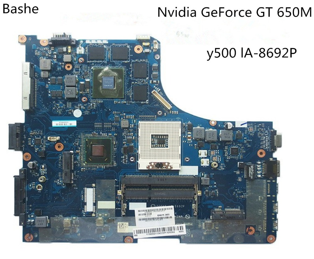 QIQY6 LA 8692P Main board For lenovo ideapad Y500 laptop motherboard GeForce GT650M full tested