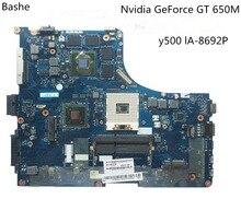 QIQY6 LA-8692P основная плата для lenovo ideapad Y500 материнская плата для ноутбука GeForce GT650M протестированы