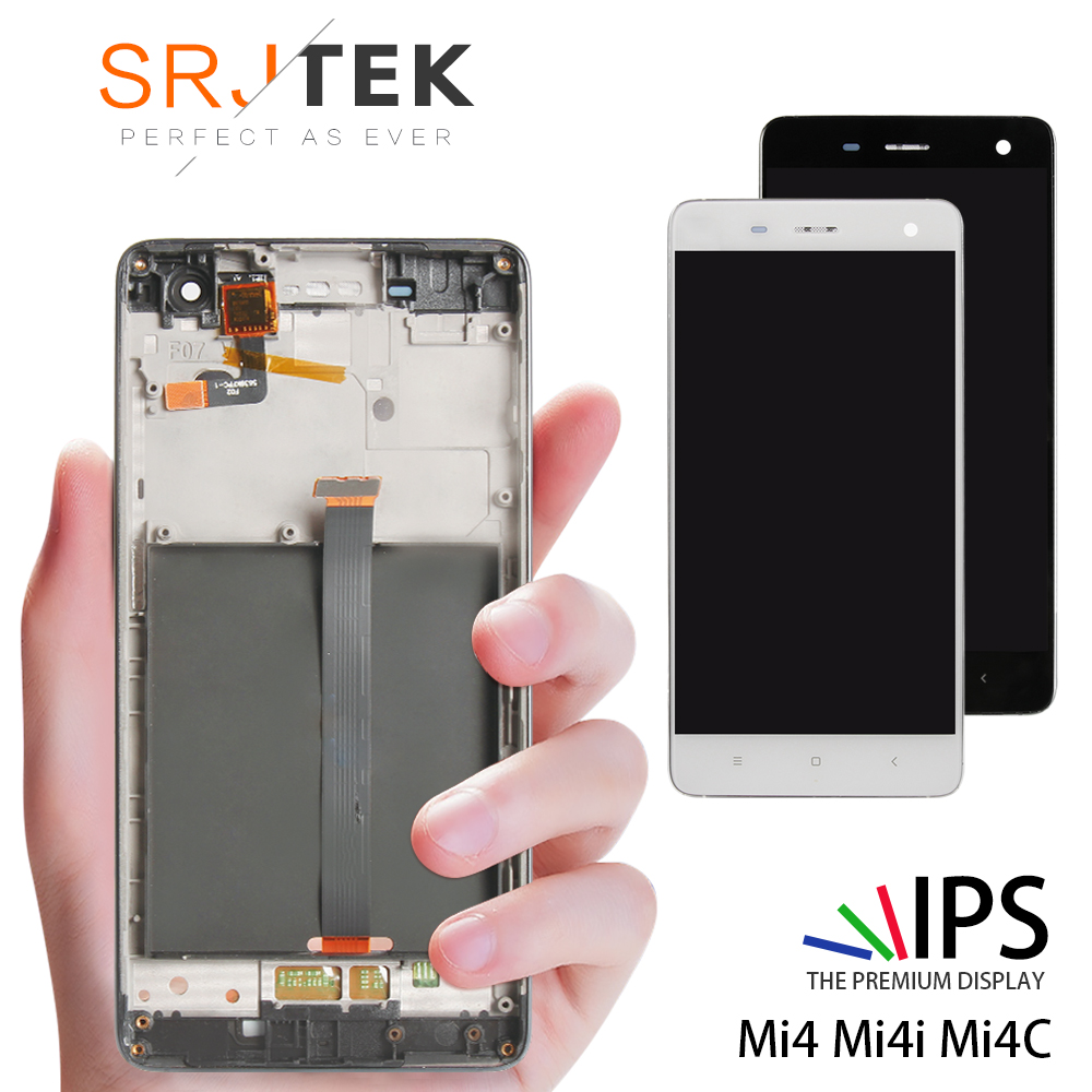 5.0 Original Display For XIAOMI Mi4 LCD Touch Screen with Frame for Xiaomi Mi4C LCD Display Mi 4 4C 4i Mi4i LCD Replacement5.0 Original Display For XIAOMI Mi4 LCD Touch Screen with Frame for Xiaomi Mi4C LCD Display Mi 4 4C 4i Mi4i LCD Replacement