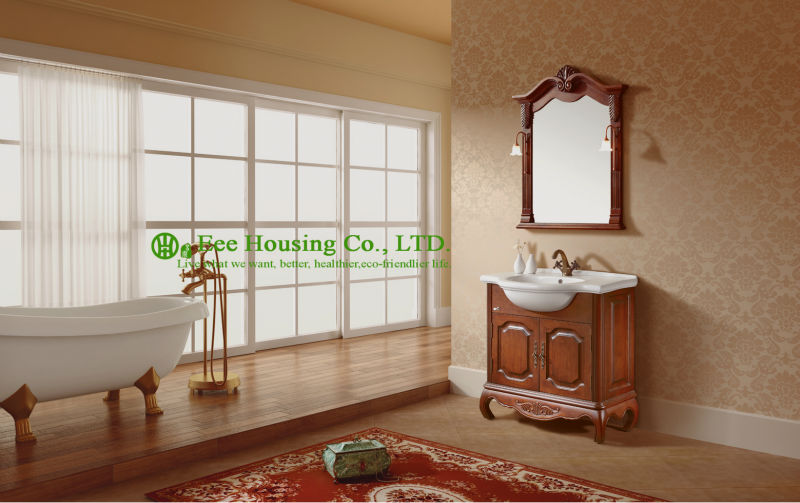 Bathroom Cabinet Best Sellinghigh End Solid Wood Luxury Poland Antique Bathroom Furniture With Cabinet