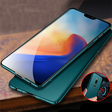 Full Protective PC Metal Case for Oneplus 6 Case Hard Thin Slim Car magnet Cover for One Plus Oneplus 6 1+6 Oneplus6