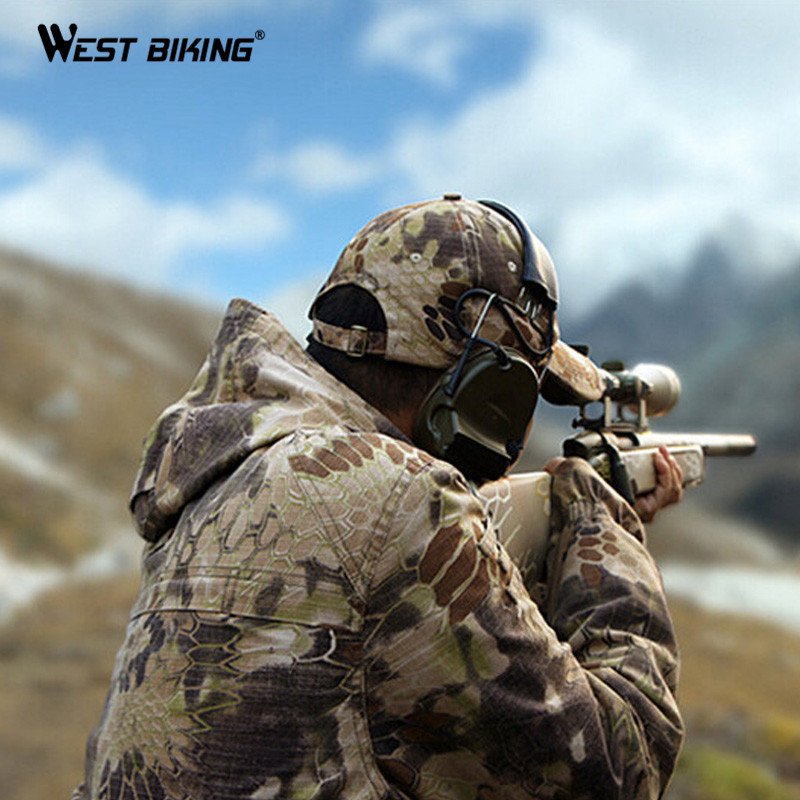 WEST BIKING Outdoor Camouflage Hat Rattlesnake Python Painted Bandana Ciclismo Breathable Sport Bike Bicycle Cycling Cap Hat