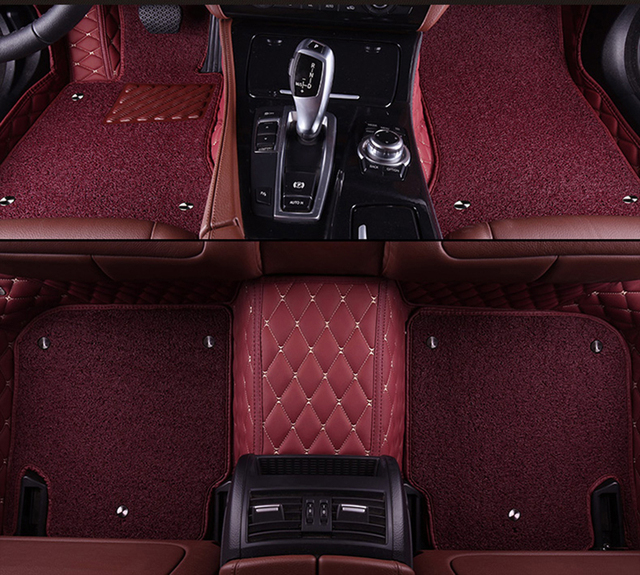 kalaisike Custom car floor mats for Lexus All Models GX GTH ES IS LS RX NX GS LX car styling car accessories