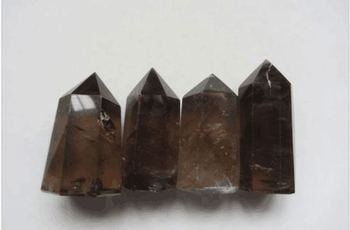 TOP!!!! 491.1g NATURAL SMOKY CITRINE QUARTZ CRYSTAL POINT HEALING