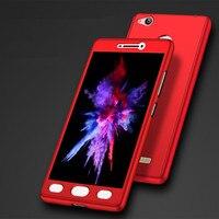 50pcs 360 Full Cover Hard Plastic Case For Xiaomi Redmi Note 4 Mi 5S 5S Plus