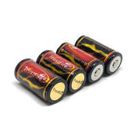 10PCS/LOT TrustFire 18350 3.7V 1200mAh Rechargeable Battery Lithium Protected Batteries with PCB For Flashlights Torch