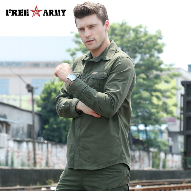 Army Pattern Men's Shirt 3