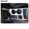 Автомобильный Stylingdetector планки ABS хром центральная консоль подстаканник Шестерня подлокотник коробка панель 1 шт. для Kia Sportage KX5 2016 2017 2018
